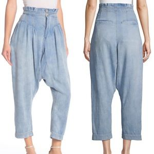 NWT Free People Mover Shaker Harem Crop Pants
